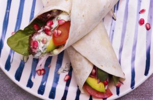 Jalna Recipe Lamb Tzatziki Wrap