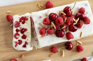 Jalna Recipe Raspberry Parfait Log