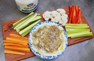 Jalna Recipes Labne with Zaatar